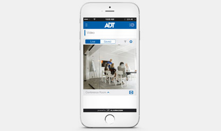 ADT Interactive Services for businesses