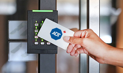 Help keep your business secure this summer with ADT access control