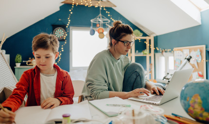 Tips to make learning from home easier for your kids